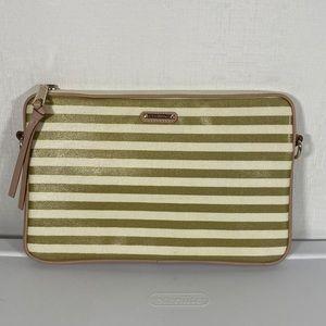 Rebecca Minkoff Gold Stripe Tablet Sleeve Case